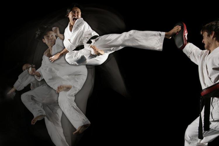 taekwondo-Kick